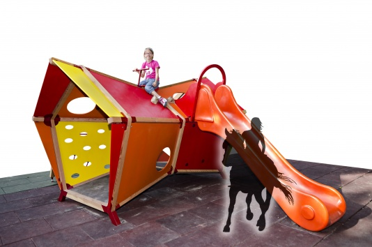 Playhouse can be a horse!