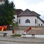 Igrišče v OŠ 8. talcev v Logatcu