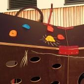 Hišica lahko zažari v unikarni otroški poslikavi