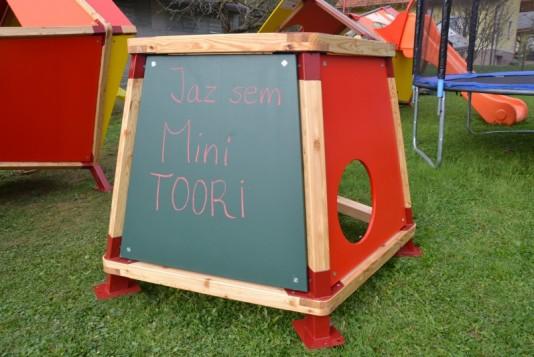 Ustvarili smo Mini TOORI, igralo za najmlajše